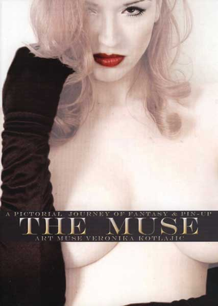 Image: Muse: A Pictorial Journey of Fantasy & Pin-Up  (Veronika Kotlajic) HC - Heavy Metal Magazine