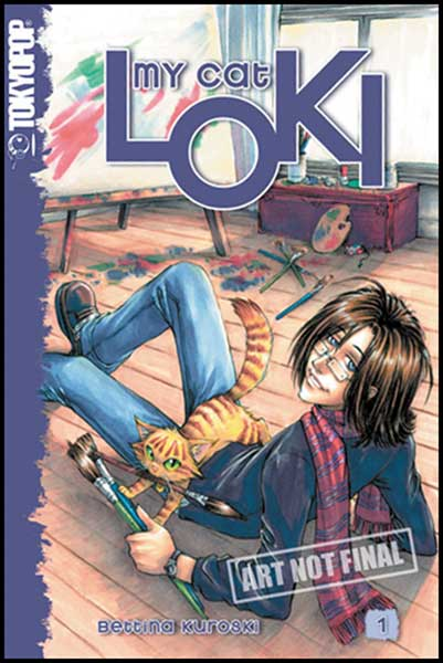 Image: My Cat Loki Vol. 1  - Tokyopop