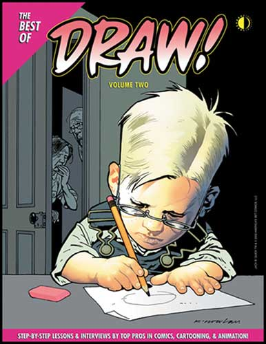 Image: Best of Draw Magazine Vol. 02 SC  - Twomorrows Publishing