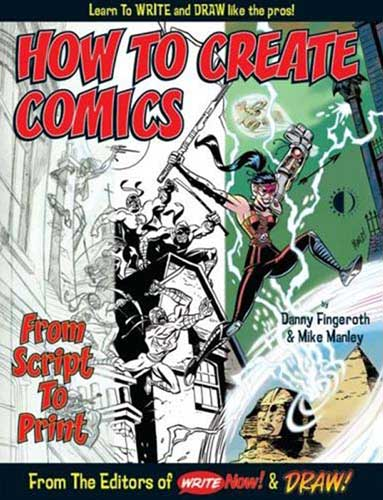 Image: How to Create Comics: from Script to Print SC  - Twomorrows Publishing