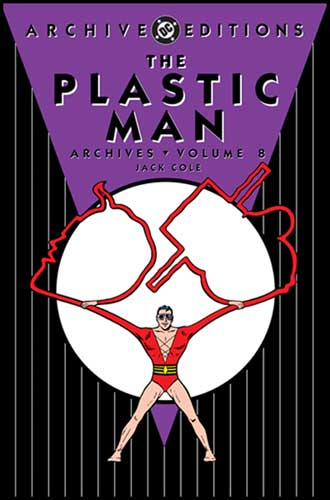 Image: Plastic Man Archives Vol. 08 HC  - DC Comics
