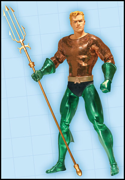 Image: Aquaman 13 Deluxe Collector Figure  -