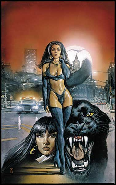 Image: Vampirella Presents: Tales of Pantha SC  - Anarchy Studios / Harris Comics