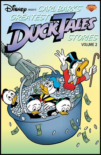 Image: Carl Barks' Greatest Ducktales Stories Vol. 02 SC  - Gemstone Publishing