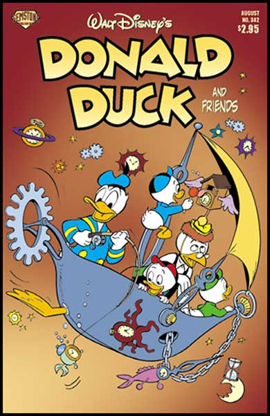 Image: Donald Duck and Friends #342 - Gemstone Publishing