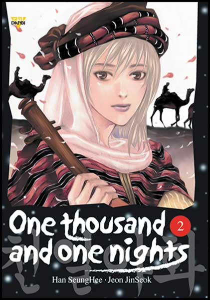 Image: One Thousand and One Nights Vol. 2 SC  - Ice Kunion