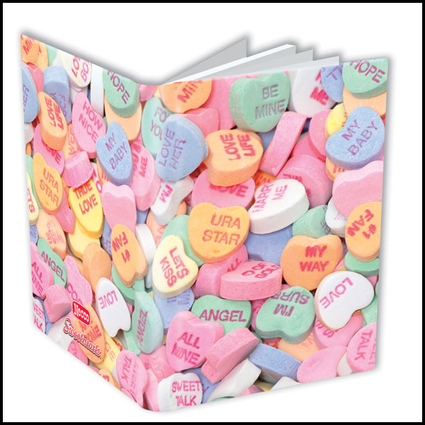 Image: Dark Horse Deluxe Journal: Necco Conversation Hearts  - Dark Horse Comics