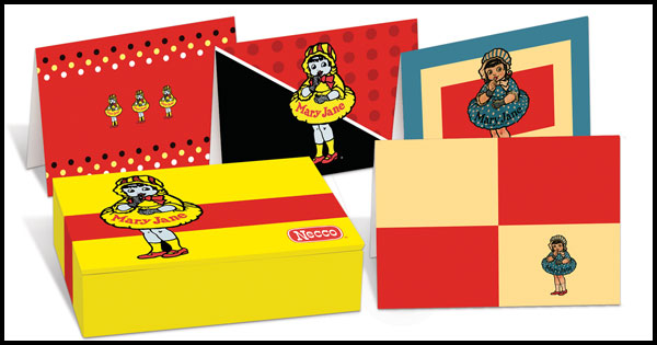 Image: Necco Mary Jane Boxed Notecard Set  - Dark Horse Comics