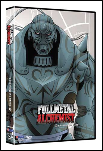Image: Fullmetal Alchemist Vol. 11: Becoming the Stone DVD Uncut  -