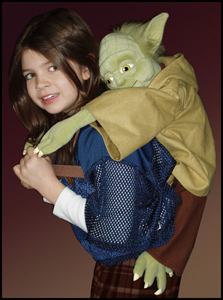 Image: Star Wars Back Buddy: Yoda  -