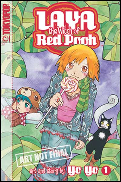 Image: Laya, The Witch of Red Pooh Vol. 01 SC  - Tokyopop