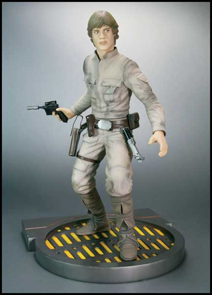 Image: Star Wars: Luke Skywalker Kotobukiya Soft Vinyl Model Kit  - Dark Horse Comics