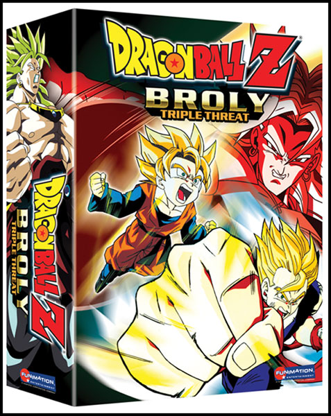 Image: Dragon Ball Z Broly 3-Pack DVD  (Uncut) -