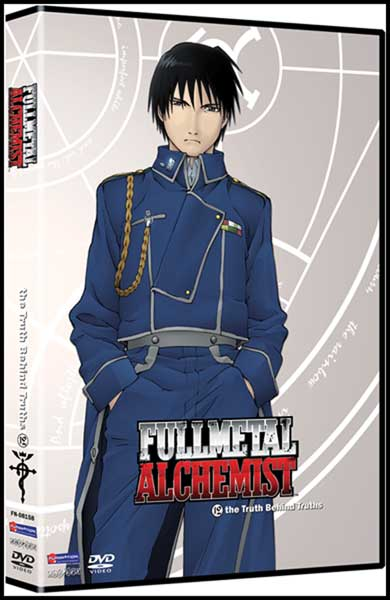 Image: Fullmetal Alchemist Vol. 12: The Truth Behind Truths - Uncut DVD  -