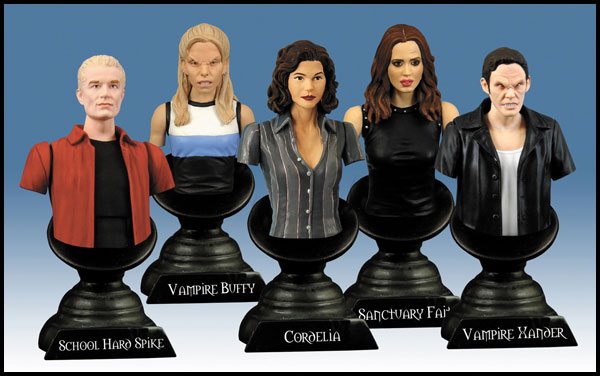 Image: Buffy the Vampire Slayer Ornament: Vampire Buffy  -