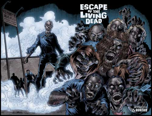 Image: Escape of the Living Dead Vol. 1 SC  - Avatar Press Inc