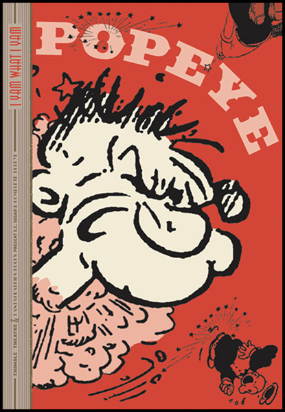 Image: Popeye Vol. 01: I Yam What I Yam HC  - Fantagraphics Books