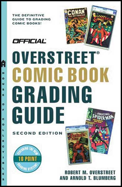Image: Overstreet Comic Book Grading Guide  (3rd edition) - Gemstone Publishing