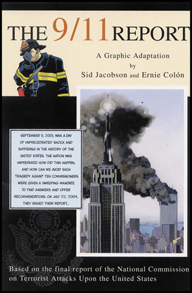 Image: 9/11 Report: A Graphic Adaptation HC  -