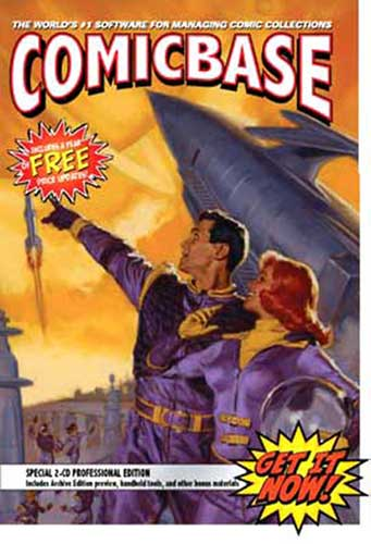 Image: ComicBase 11 Professional Ed. CD-ROM  -