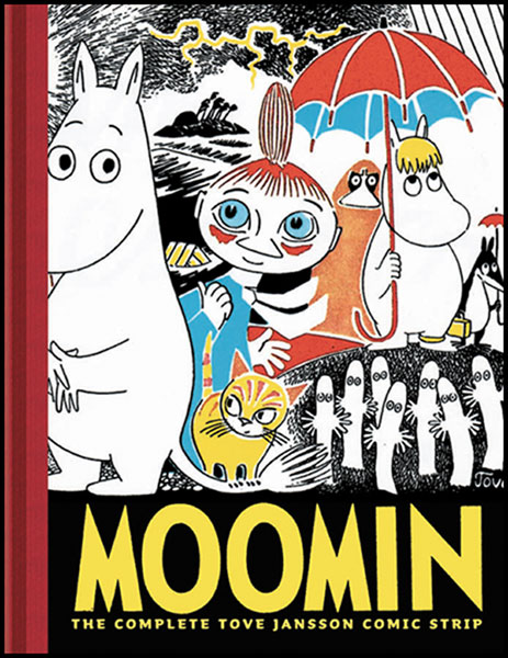 Image: Moomin: Complete Tove Jannson Comic Strip HC  -