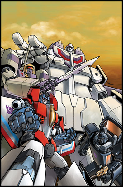 Image: Transformers: Infilitration Manga SC  - IDW Publishing