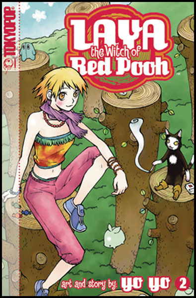 Image: Laya, the Witch of Red Pooh Vol. 02 SC  - Tokyopop
