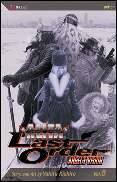 Image: Battle Angel Alita Last Order Vol. 08 SC  - Viz Media LLC