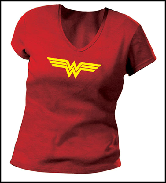 Image: Wonder Woman Symbol II Women's T-Shirt  (L) -