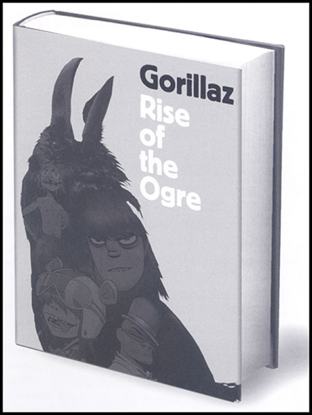 Image: Gorilaz: Rise of the Ogre HC  -