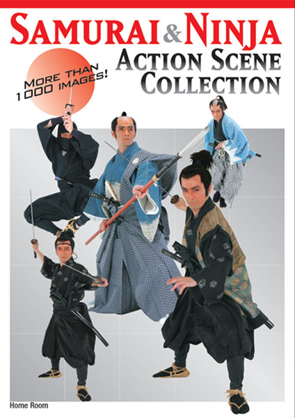 Image: Samurai & Ninja Action Scene Collection  -