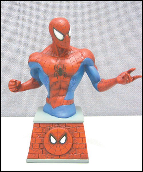 Image: Marvel Bust Paperweight: Spider Man  - Marvel Comics