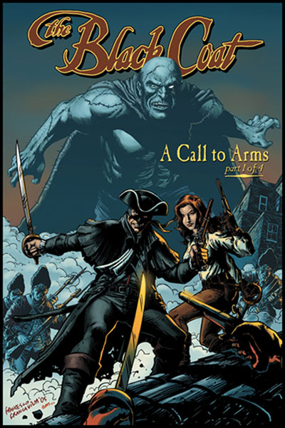 Image: Black Coat: A Call to Arms SC  - Ape Entertainment