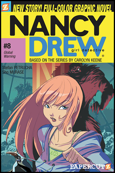 Image: Nancy Drew Graphic Novel #08: Global Warning SC  - Papercutz