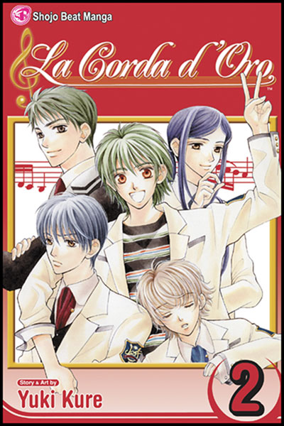 Image: La Corda Doro Vol. 02 SC  - Viz Media LLC