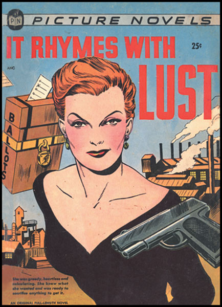 Image: It Rhymes With Lust SC  - Dark Horse Comics