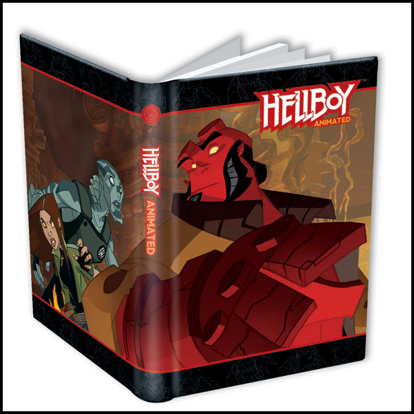 Image: Dark Horse Deluxe Journal: Hellboy Animated  - Dark Horse Comics