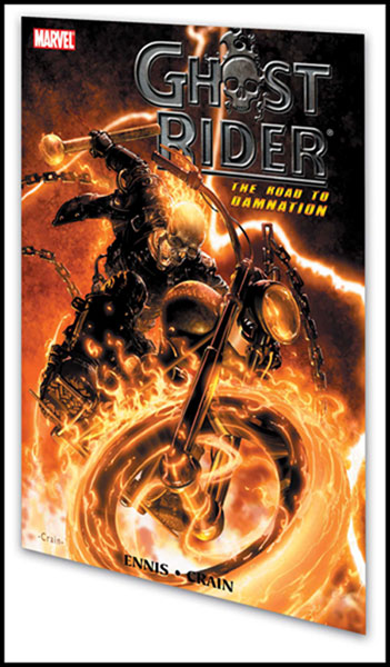 Image: Ghost Rider: Road to Damnation SC  - Marvel Comics