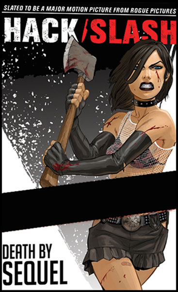 Image: Hack/Slash Vol. 02: Death by Sequel SC  - Devils Due Publishing