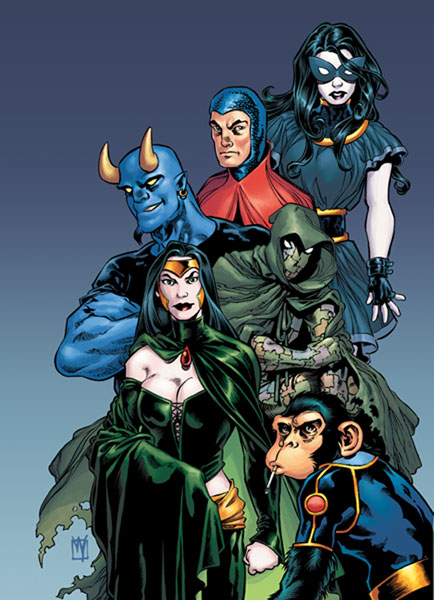 Image: Shadowpact: The Pentacle Plot SC  - DC Comics
