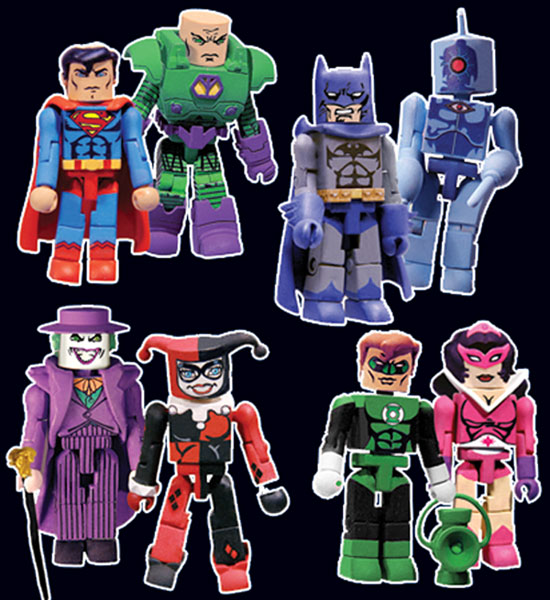 Image: DC Minimates Series One Set  (4) -