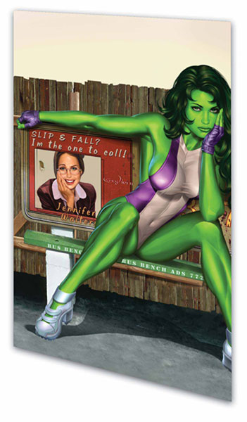 Image: She-Hulk Vol. 04: Laws of Attraction SC  - Marvel Comics
