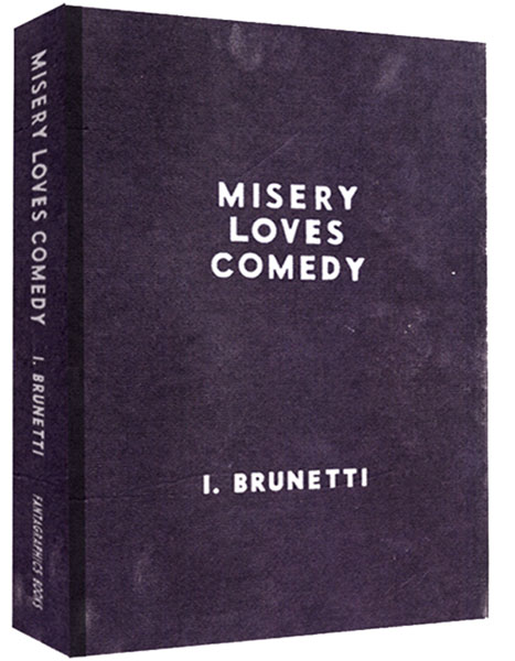 Image: Misery Loves Comedy HC  - Fantagraphics Books