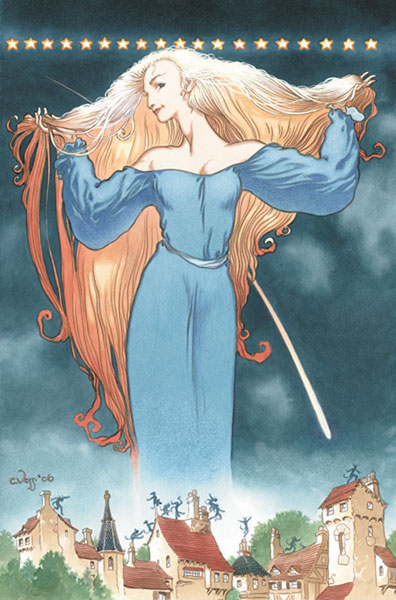 Image: Neil Gaiman and Charles Vess' Stardust HC  - DC Comics