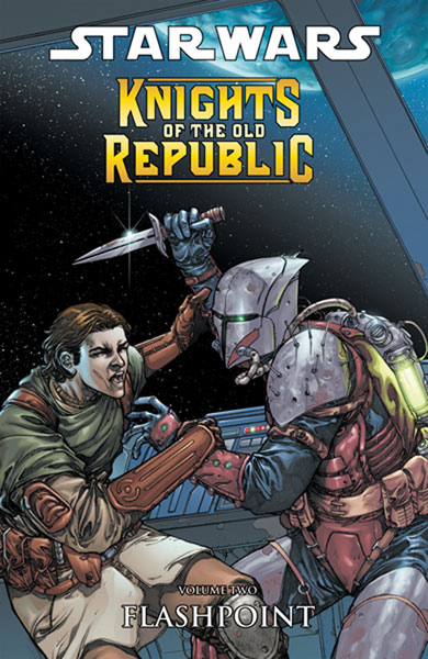 Image: Star Wars: Knights of the Old Republic Vol. 02 - Flashpoint SC  - Dark Horse Comics