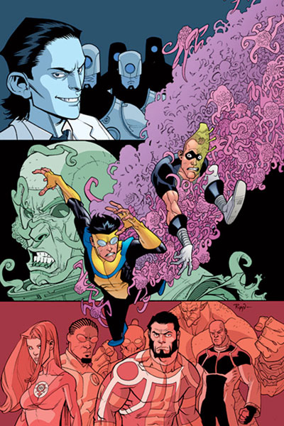 Image: Invincible Vol. 08: My Favorite Martian SC  - Image Comics