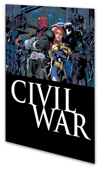 Image: Civil War: Thunderbolts SC  - Marvel Comics