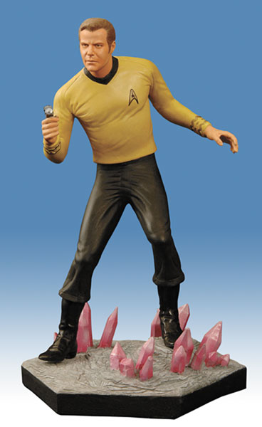 Image: Star Trek: T.O.S. 40th Anniversary Statue: Landing Party Kirk  -