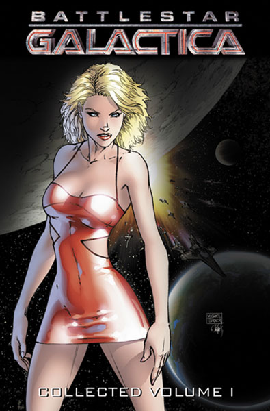 Image: Battlestar Galactica Vol. 01 SC  (alternate cover) - D. E./Dynamite Entertainment