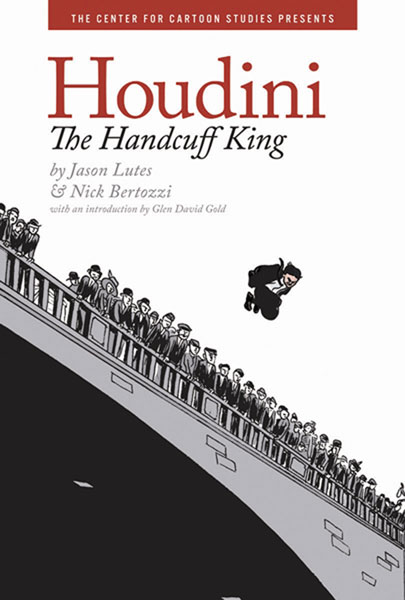 Image: Houdini: The Handcuff King HC  - Hyperion Books